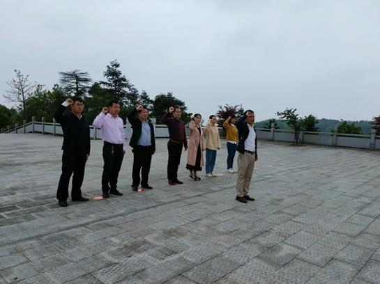 临澧县太浮山管理处以实际行动推动党史学习教育走深走实